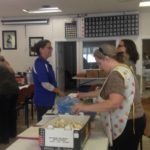 The 2016 Community Can donation was more than 200 jars in Dawson Creek. And they were all processed in one day. Volunteers in Dawson Creek prep food donated by the Dawson Creek Co-op for their first ever Community Can. Volunteers in Dawson Creek prep food donated by the Dawson Creek Co-op for their first ever Community Can