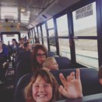 Students from Alwin Holland Elementary ride the bus to the North Peace Landfill to explore what happens to your garbage once it leaves your house. Landfill Tours are part of the p R R R d y education campaign we offer on behalf of the Peace River Regional District. in 2015 we saw more than 2000 students throughout the Region.