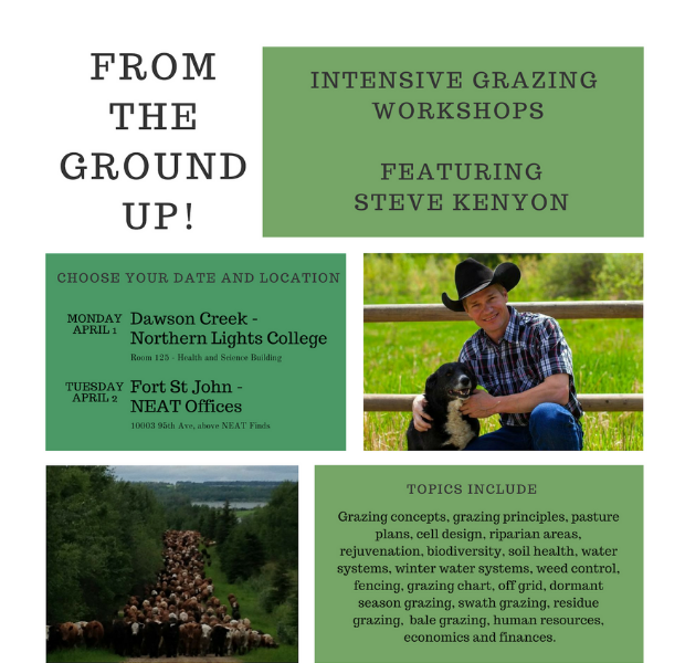 Intensive Grazing Workshop Poster