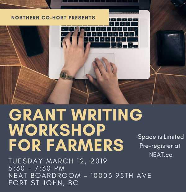 Grant Writing Workshop for Farmers