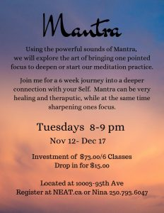 Mantra with Nina Peters