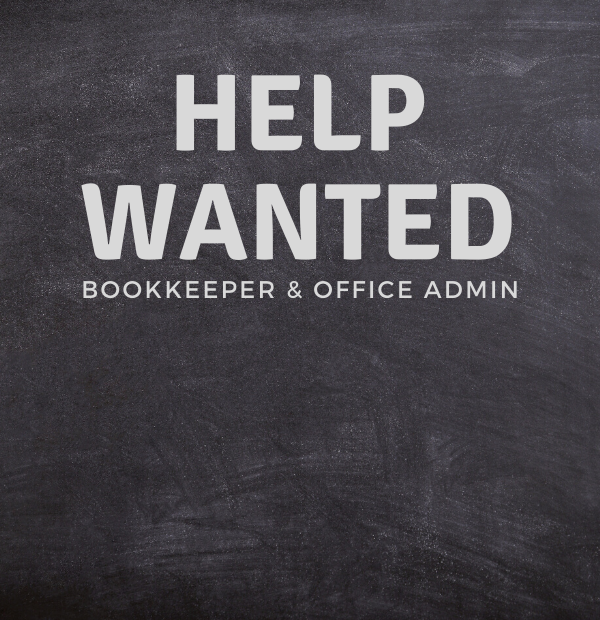 Help Wanted - Bookkeeper